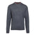 Charcoal Grey Merino Wool Blend Sweater