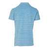 Bahama Blue and Cloud Resort Felix Polo Shirt