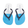 HASTON FLIP FLOPS WHITE/ BAHAMA BLUE