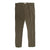 Khaki Cotton Stretch Slim Fit Trousers