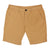 Camel Lightweight Pima Cotton Tailored Shorts
