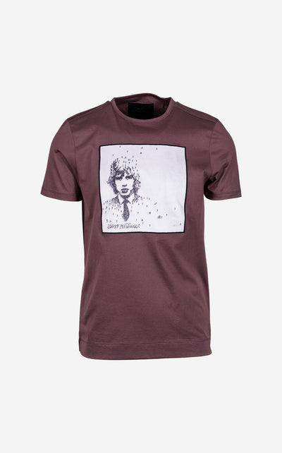 Moves Like by Craig Alan T-Shirt in Burgundy