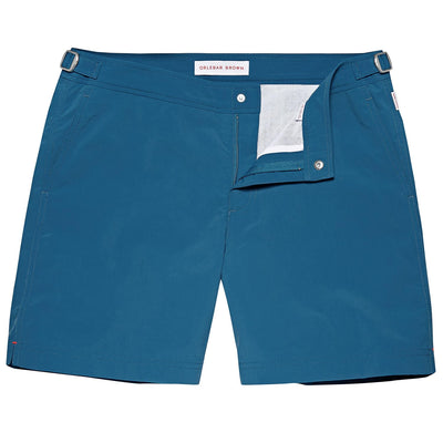 BULLDOG Aquamarine Mid-Length Swim Shorts