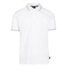 White Smart Tipped Polo Shirt