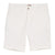 White Cotton Tailored Shorts