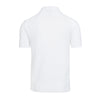 White Knitted Polo Shirt