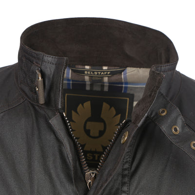 Mahogany Roadmaster Belted Wax Jacket