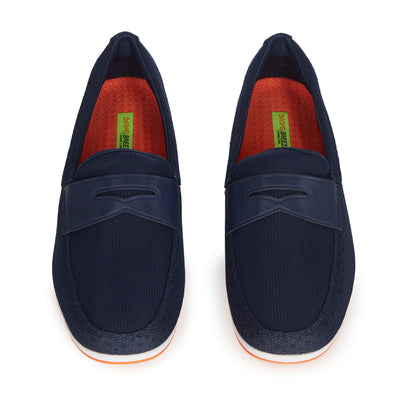 Breeze Penny Navy Loafers