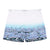 Blue Photographic Parasol Shorts
