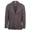 Dark Grey Herringbone Cotton Jacket
