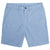 Blue Cotton Stretch Shorts