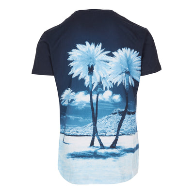 OB-T Blue Palms Photo T-Shirt