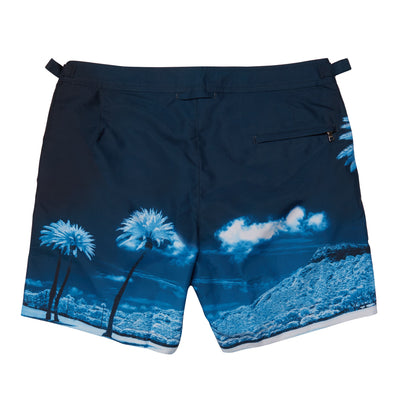 Blue Palms Bulldog Swim Shorts