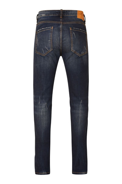 3432 Dark Blue Wash Slim Fit