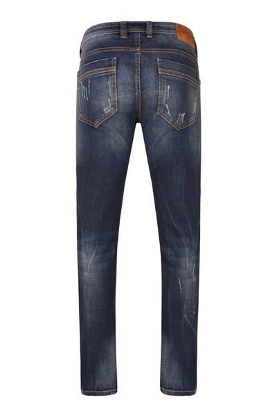 3465 Dark Blue Wash Slim Fit