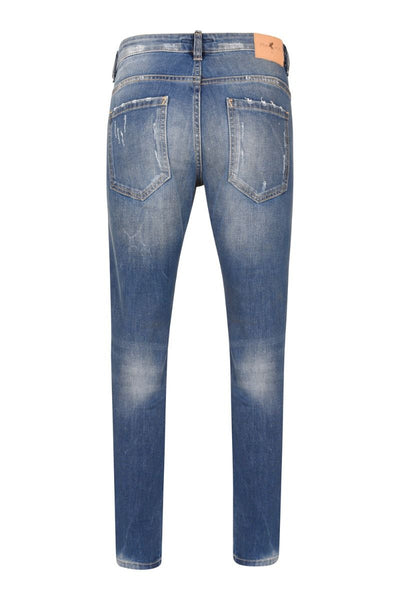 3477 Mid Blue Wash Slim Fit