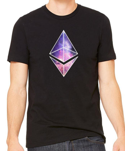 Ethereum Galaxy Men's T-Shirt