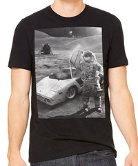 Moon Lambo Men's T-Shirt