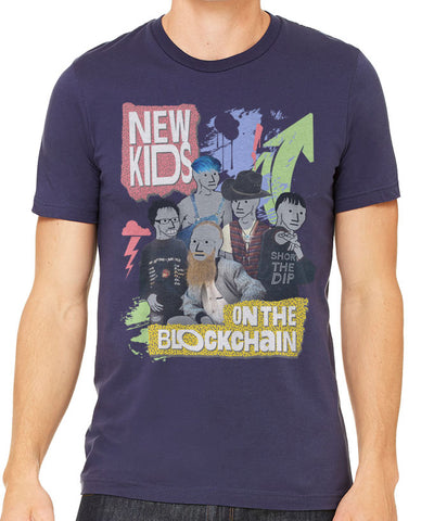 New Kids On The Blockchain Men's T-Shirt