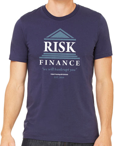 Risk. Finance Men's T-Shirt