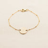 Disc Satellite Chain Bracelet