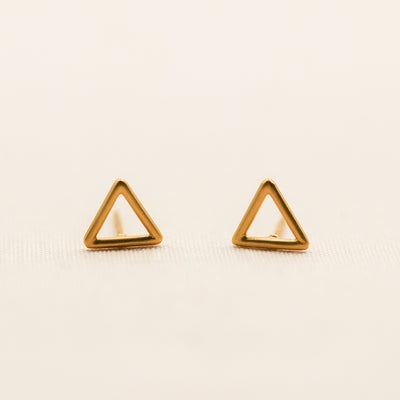 Open Triangle Earring