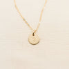 Petite Disc Necklace - 3/8""