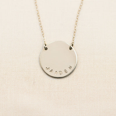Halo Necklace - 3/4""
