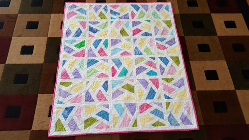 Stained Glass Memory Quilt