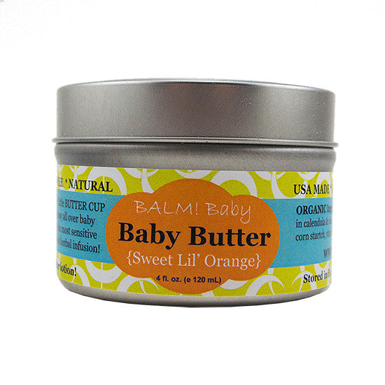 BALM! BABY BABY BUTTER NATURAL BABY BODY BUTTER LOTION