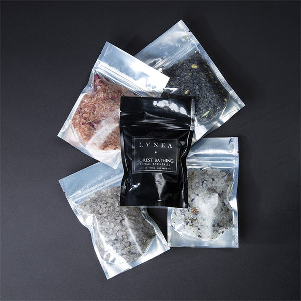 LVNEA - Ritual Bath Salts Sample Packs