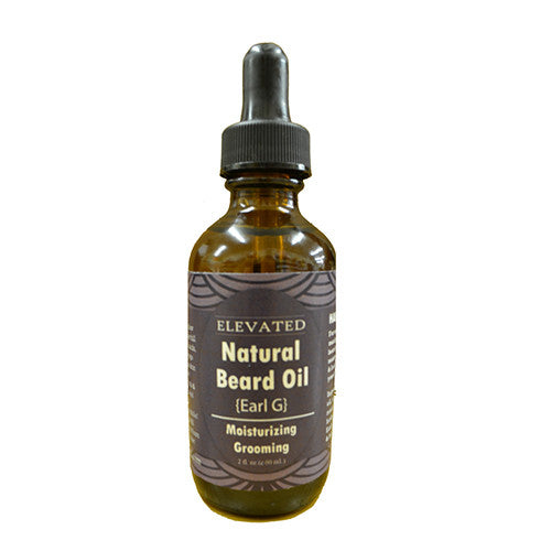 ELEVATED NATURAL BEARD OIL