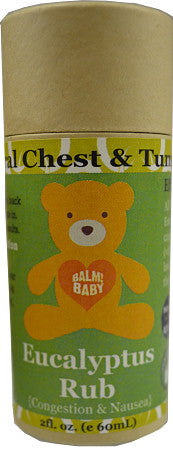 BALM! BABY! EUCALYPTUS RUB! NATURAL CHEST & TUMMY AID