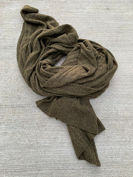 Sloomb Gold Cashmere Stole