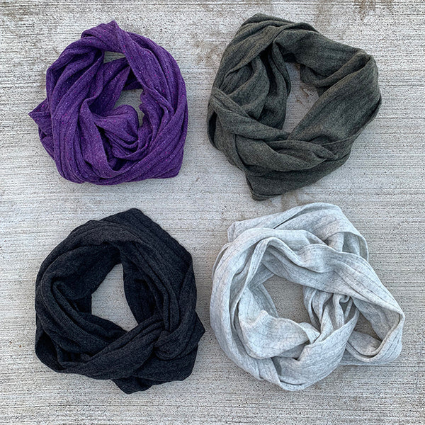 Cashmere Infinity Scarves