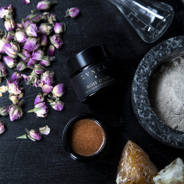 LVNEA - Rose d'Or - Facial Mask and Exfoliant