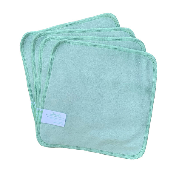 Mint Bamboo Velour Wipes