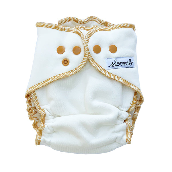 Overnight Bamboo Fleece Fitted Diapers