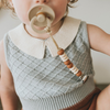 Nate Duo || Petite Pacifier Clip - Pretty Please Teethers
