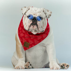 WONTON DESIGN Christmas bandana in red - WontonCollection