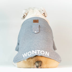 WONTON T-Shirt in light grey - WontonCollection