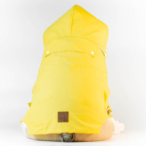 WONTON SUNFLOWER Rain Jacket - WontonCollection