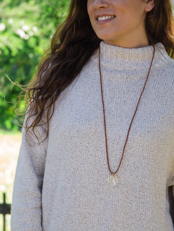 Free Spirit Quartz Necklace