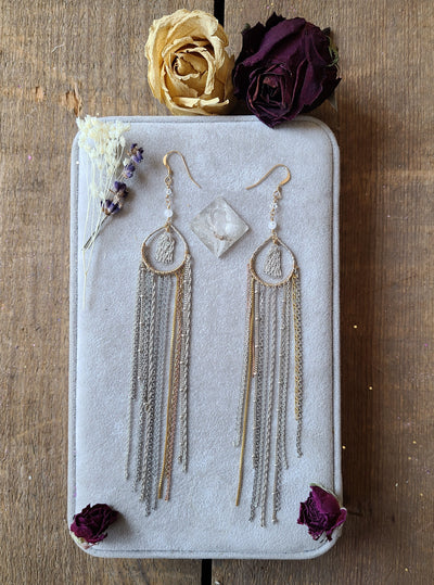 Chain Magic Chandelier Earrings