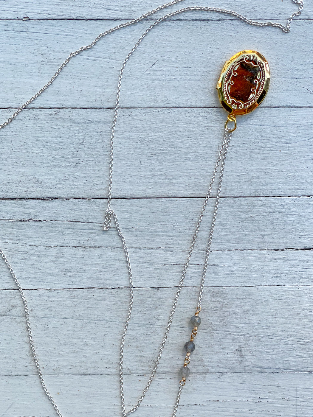 Long Locket Necklace | Jewel From Home