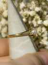 The Crowned Pearl Vintage Solitaire