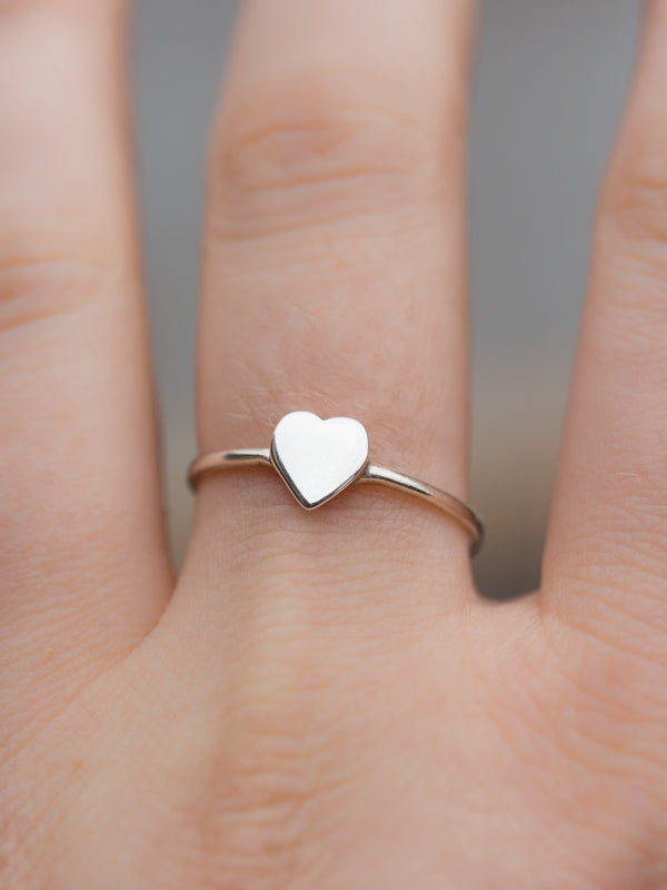 With All My Heart Ring in Sterling Silver
