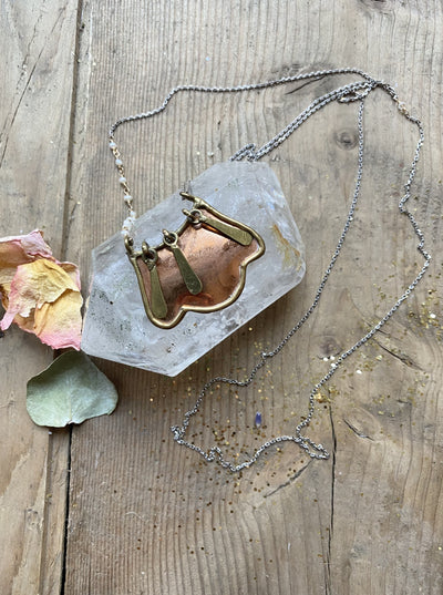 The Copperfield Vintage Pendant Necklace