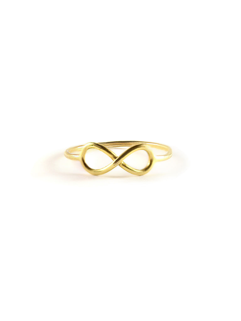 Infinity Ring in 14K Gold Filled