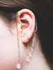 Moonstone Droplet Ear Cuff